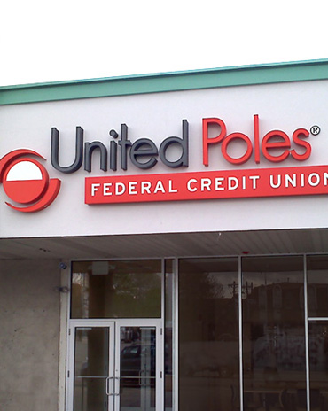 UNITED POLES Sign